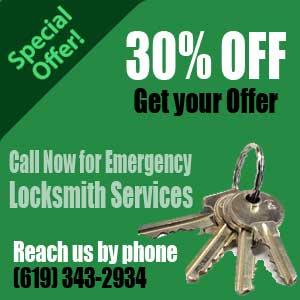 San Diego Car Locksmith Coupon